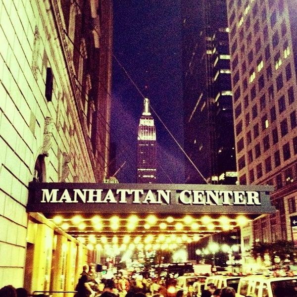 Photo taken at Hammerstein Ballroom by Patrick M. on 10/21/2012