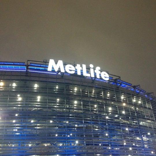Photo taken at MetLife Stadium by mike b. on 12/10/2012