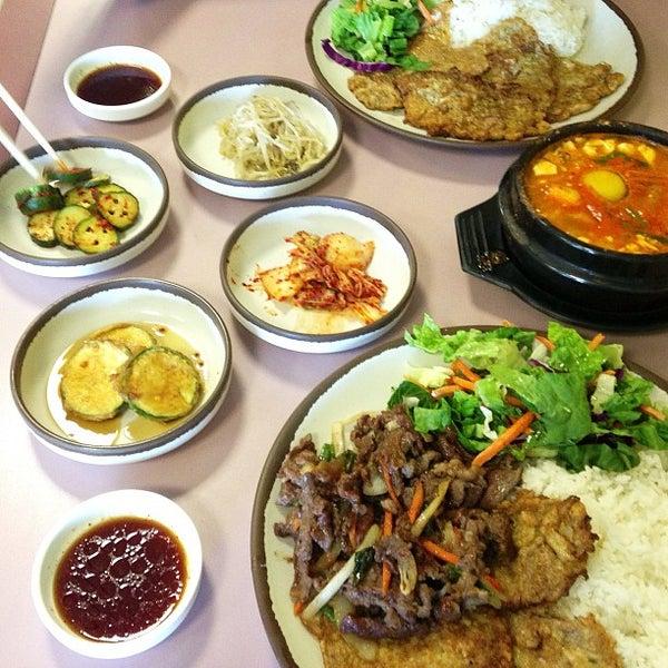 Photo taken at Jun's House Korean Restaurant by Jacque P. on 6/1/2013