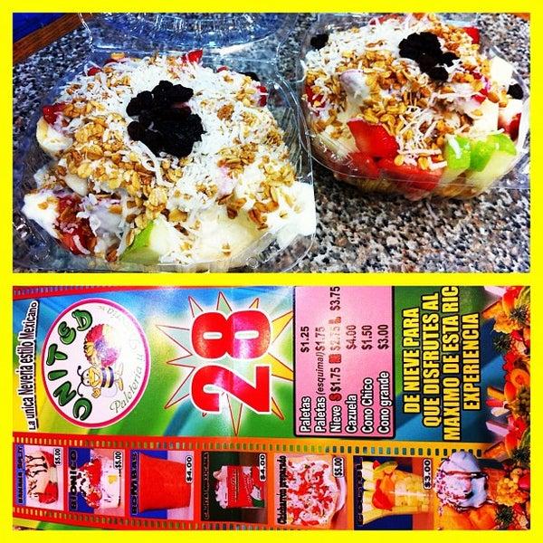 Photos At United Paleteria Y Neveria Ice Cream Shop