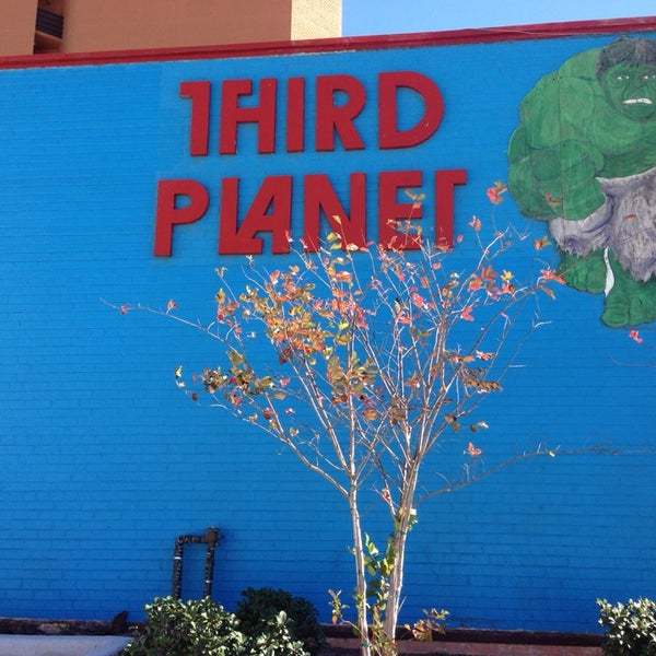 Photo taken at Third Planet Sci-Fi Superstore by Mynam V. on 1/21/2014