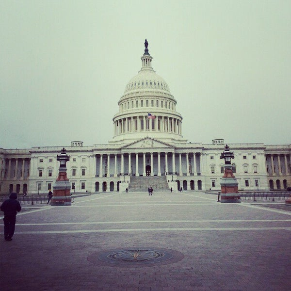 Photo taken at United States Capitol by Robb H. on 2/19/2013