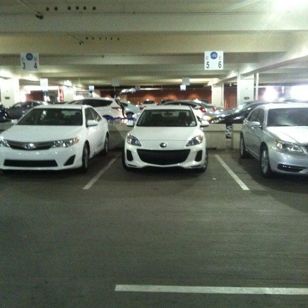 Rental Car Center Visitor Parking