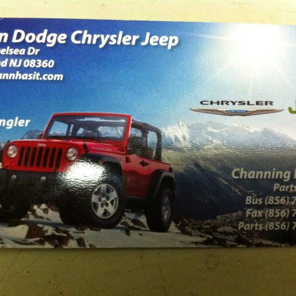 Vann Dodge-Chrysler-Jeep - Auto Dealership in Vineland