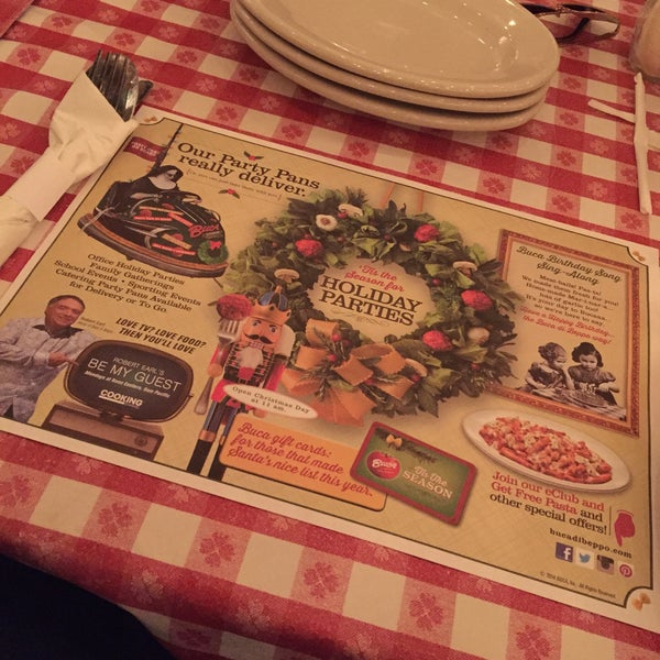 Photo taken at Buca di Beppo by Fawaz A. on 12/26/2014