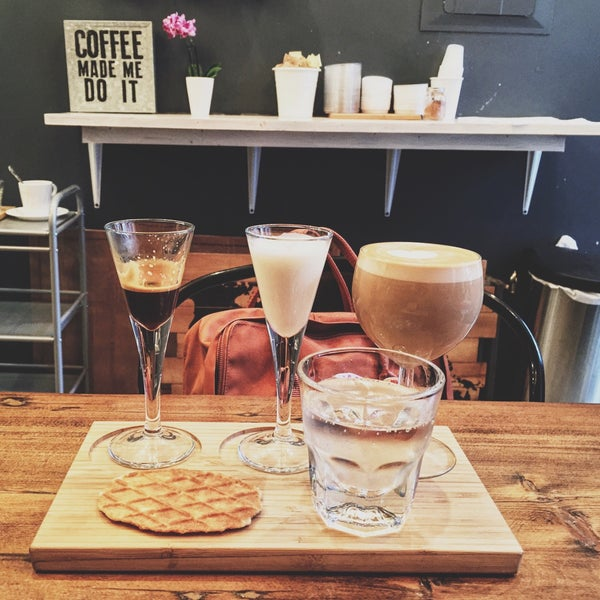 The name says it all! Try the latte experience. Friendly staff and delicious coffee