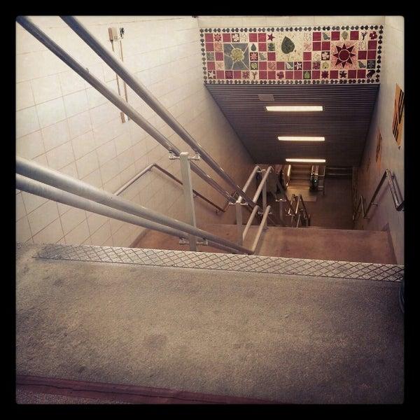 Photo taken at PATCO: Ashland Station by Ryan B. on 11/9/2012
