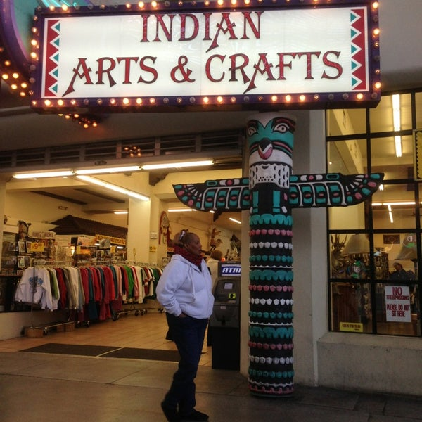 el portal indian arts crafts gift shop in downtown las