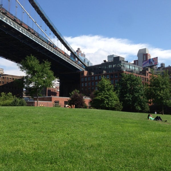 Photo taken at Brooklyn Bridge Park by Max S. on 8/3/2013