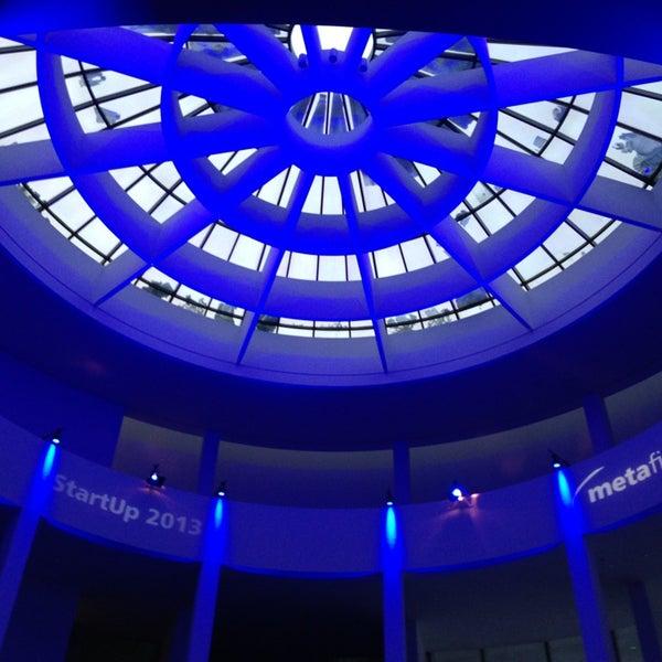 Photo taken at Pinakothek der Moderne by Christian E. on 1/21/2013
