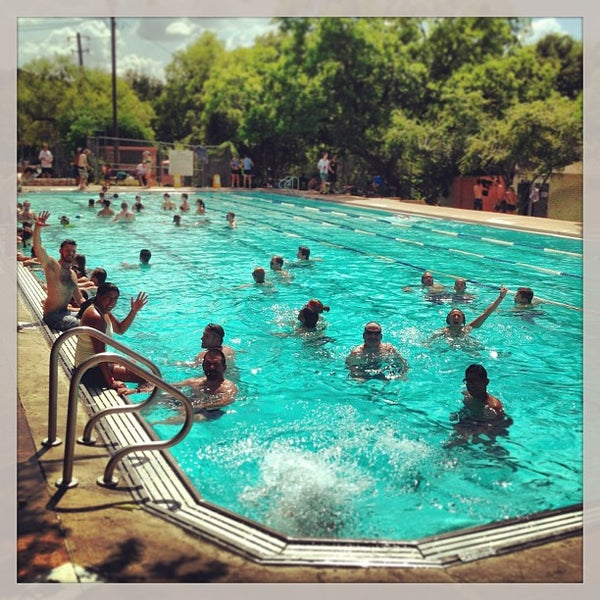 Photo taken at Big Stacy Pool by Tom W. on 8/10/2013