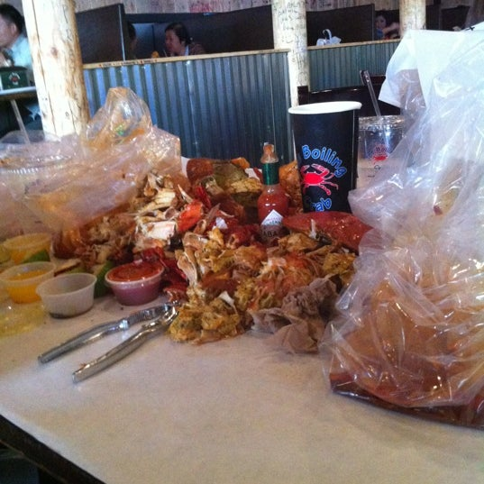 Photo taken at The Boiling Crab by TONY A. on 11/17/2012