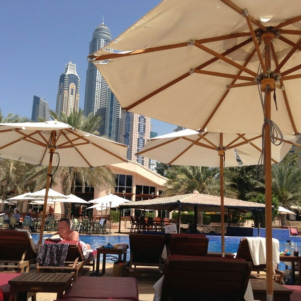 Photo taken at Habtoor Grand Resort, Autograph Collection by Alex T. on 3/13/2013