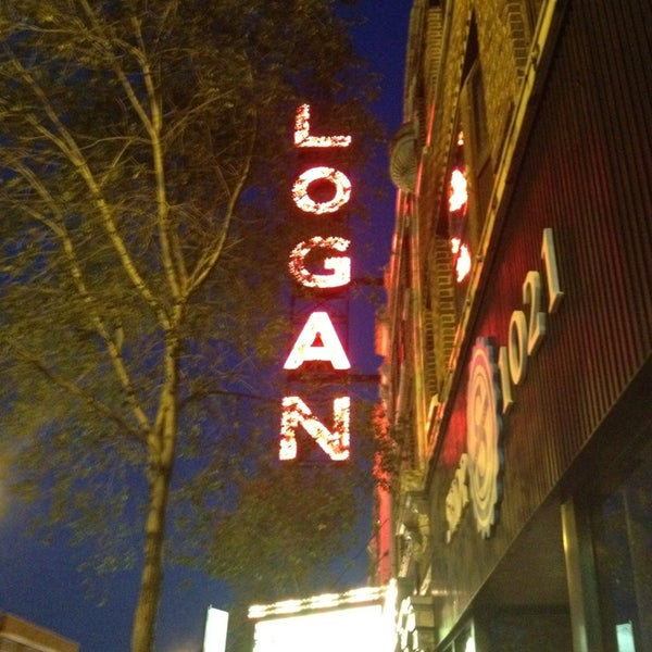 Photo taken at Logan Theatre by Mark P. on 4/2/2013
