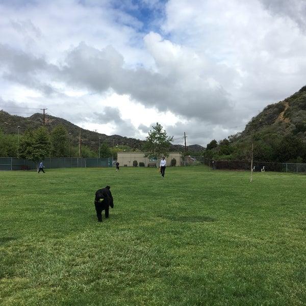 Photo taken at Laguna Canyon Dog Park by Nick M. on 4/10/2016