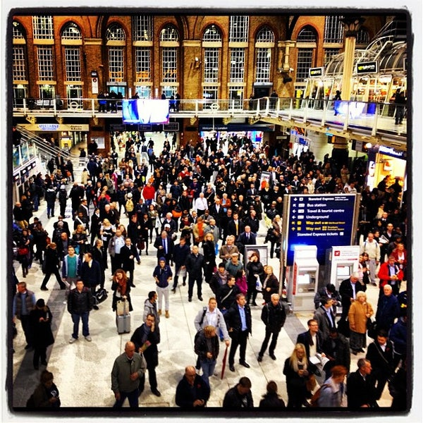 Photo taken at London Liverpool Street Railway Station (LST) by Cass S. on 11/2/2012