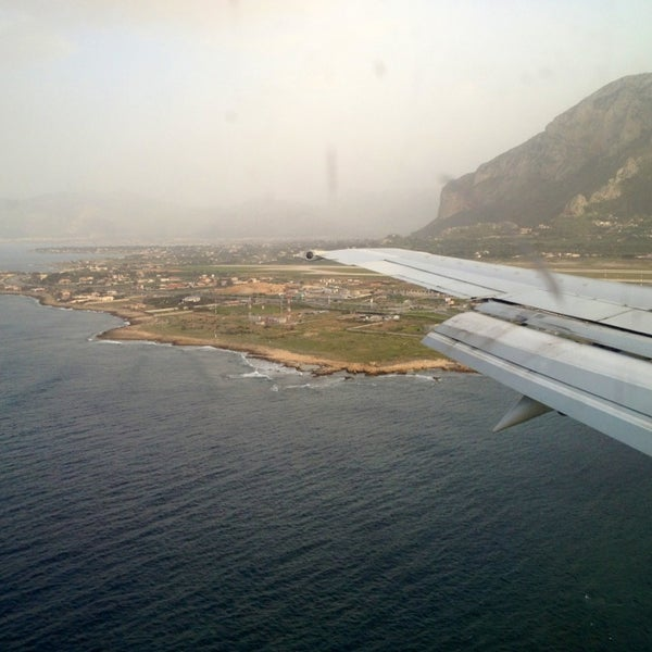 Photo taken at Palermo Airport (PMO) by Алена С. on 3/6/2013