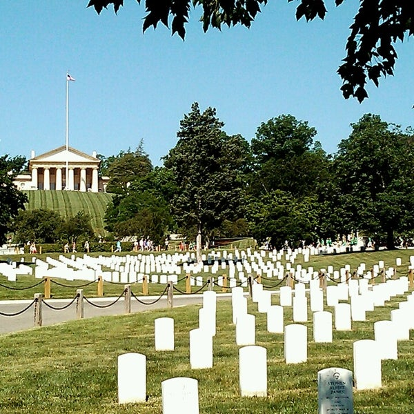 Photo taken at Arlington National Cemetery by Michael Shane G. on 6/1/2013