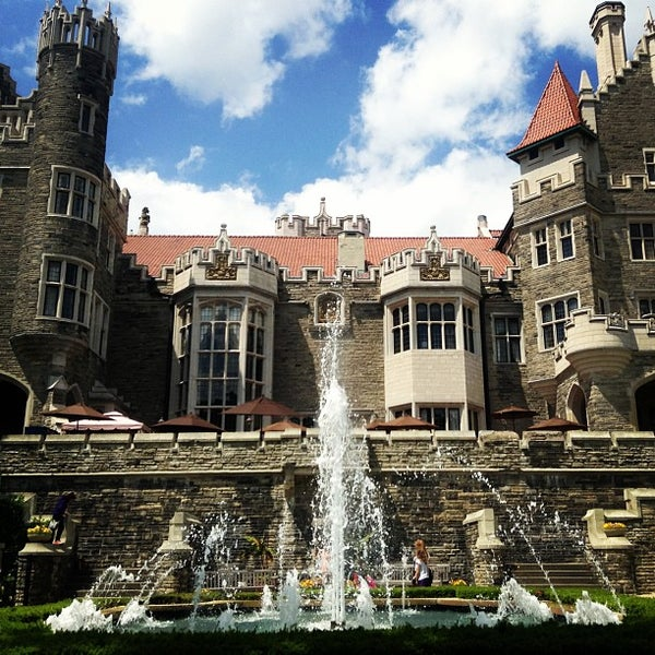 Photo taken at Casa Loma by Juan A. on 6/15/2013