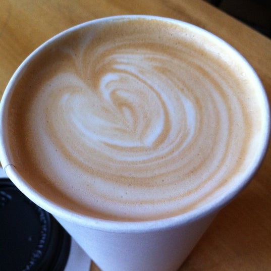 Photo taken at Victrola Cafe and Roastery by Phoebe F. on 11/3/2012