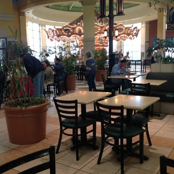 Champaign Mall Food Court
