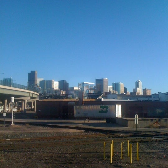 Photo taken at Denver Amtrak (DEN) by Joryuu on 9/15/2012