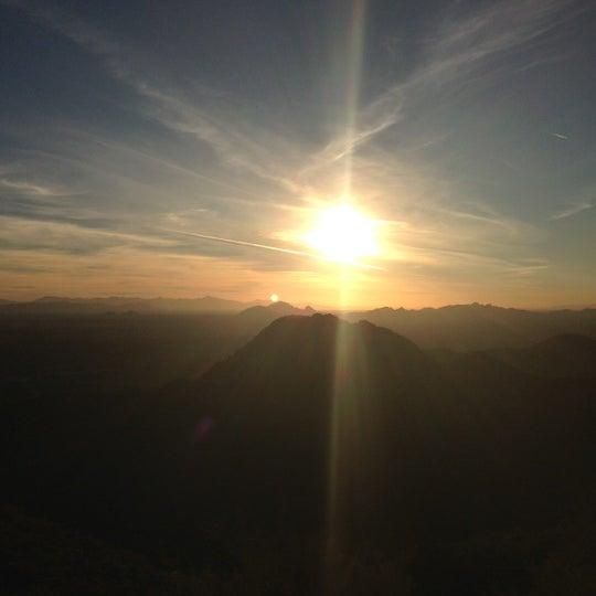 Photo taken at Sunrise Peak by Michael W. on 1/19/2013