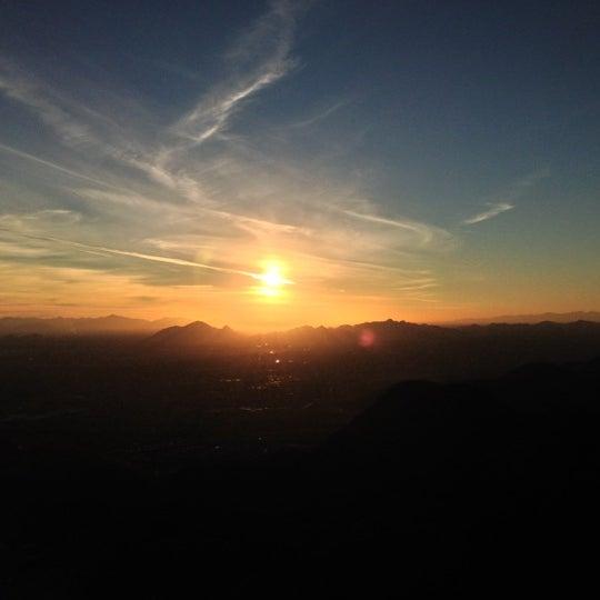 Photo taken at Sunrise Peak by Michael W. on 1/21/2013