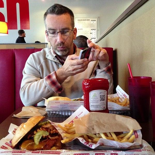 Photo taken at Smashburger by Fabian M. on 4/4/2013