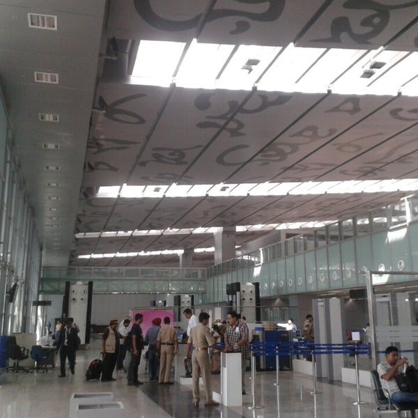 Photo taken at Netaji Subhash Chandra Bose International Airport (CCU) by Shiladitya M. on 7/21/2013