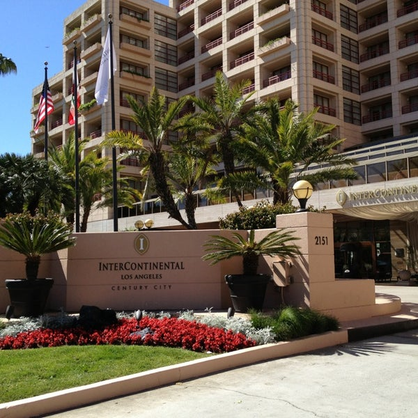 Photo taken at InterContinental Los Angeles Century City by Dion H. on 4/9/2013