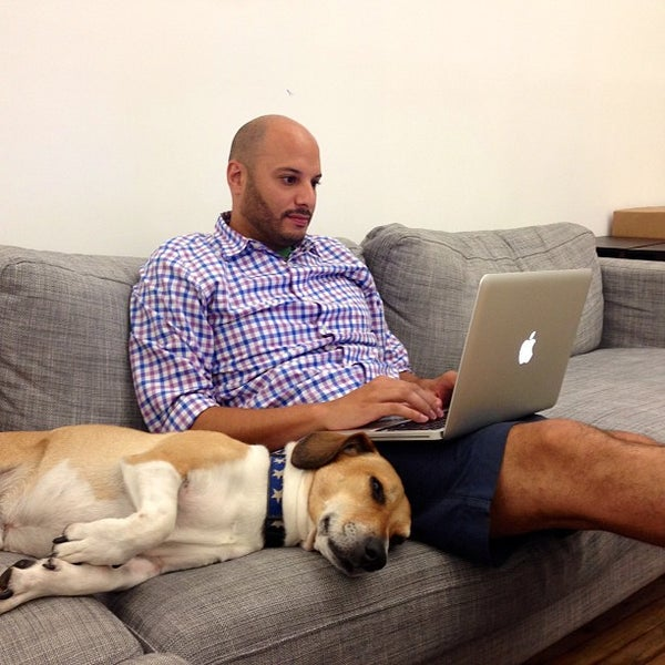 Photo taken at Thrillist HQ by Mike B. on 7/3/2013