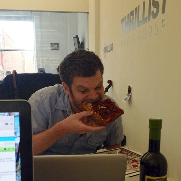 Photo taken at Thrillist HQ by Mike B. on 8/6/2014