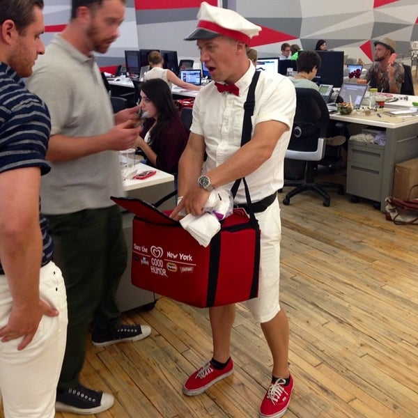 Photo taken at Thrillist HQ by Mike B. on 7/10/2014