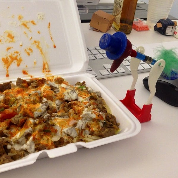 Photo taken at Thrillist HQ by Mike B. on 7/31/2014