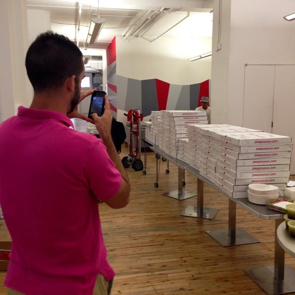 Photo taken at Thrillist HQ by Mike B. on 6/26/2014