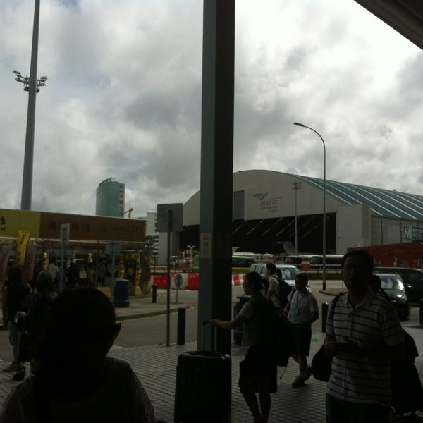 Photo taken at Taipa Ferry Terminal by Toey P. on 7/20/2013