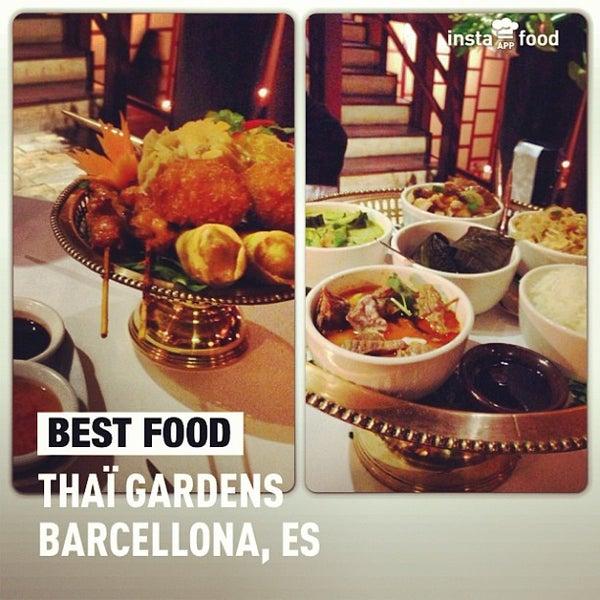 Foto tomada en Thai Barcelona | Thai Gardens por Manuela T. el 4/26/2013