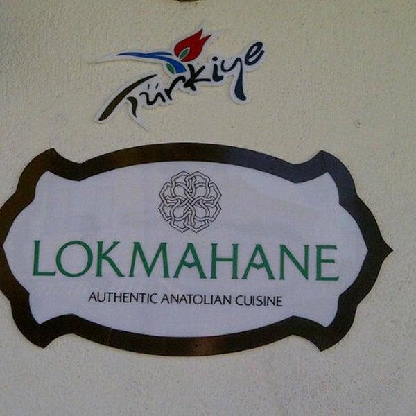 Zengin Anadolu Mutfağı ve Derviş sofrasının geleneksel tatları : LOKMAHANE; Mengüç Caddesinde.                    www.lokmahane.net