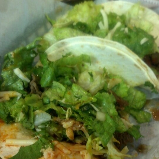 Photo taken at Hankook Taqueria by Danielle F. on 2/16/2013