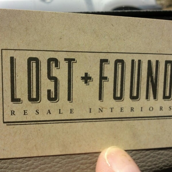 Photo Taken At Lost + Found Resale Interiors By Tricia S. On 7/4
