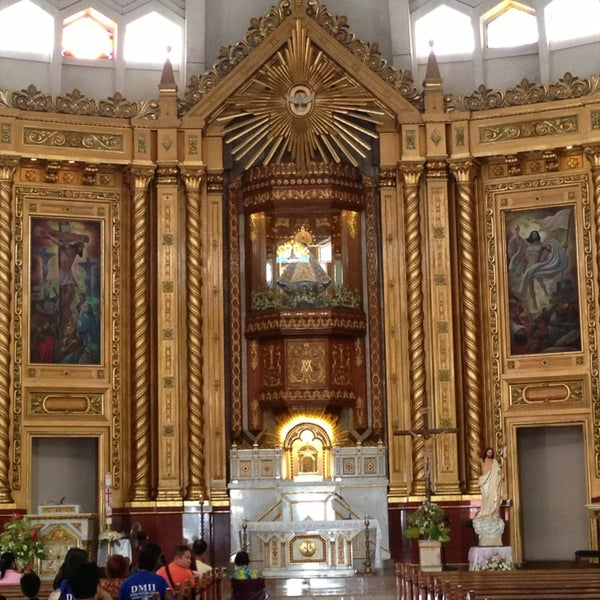 Photo taken at National Shrine of Our Lady of Peace and Good Voyage (Antipolo Cathedral) by Diane G. on 4/9/2013