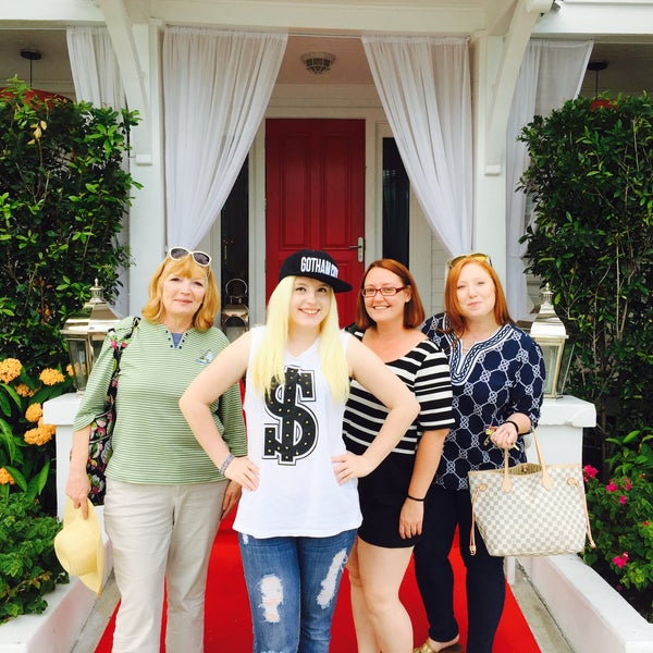 Photo taken at The Saint Hotel by Shirley F. on 7/18/2015