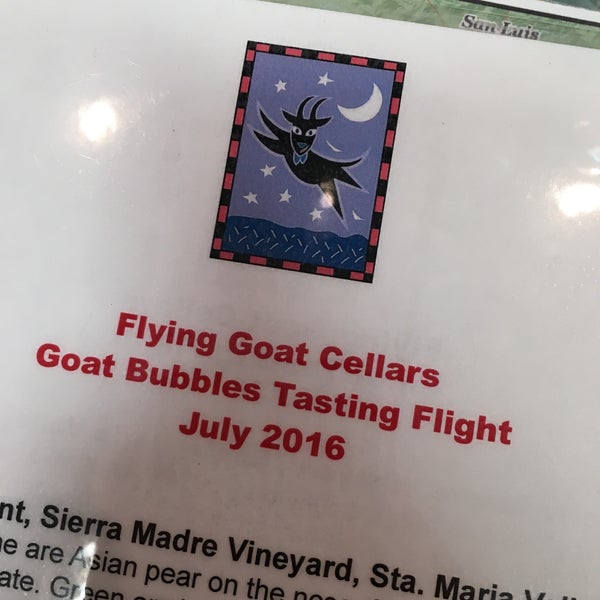 Photo taken at Flying Goat Cellars Tasting Room by Amanda B. on 7/3/2016
