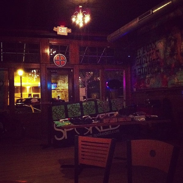 Photo taken at HandleBar by Jeremy S. on 9/23/2012