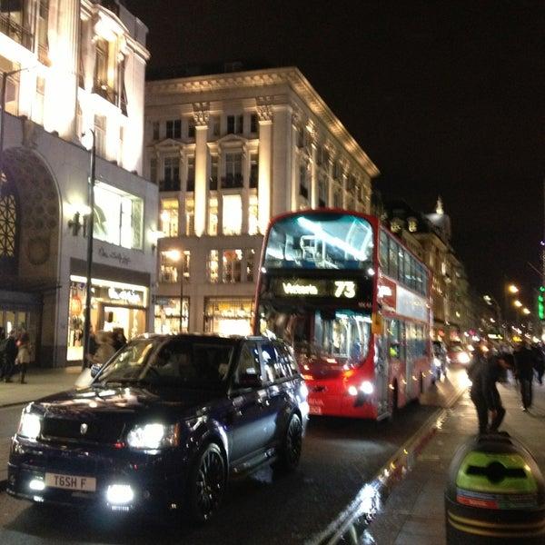 Photo taken at Oxford Street by Дарья В. on 2/1/2013