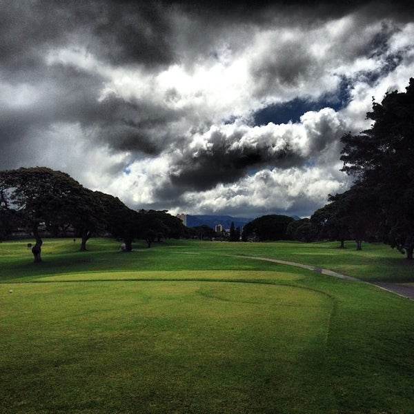 Photo taken at Navy Marine Golf Course by Barry N. on 6/25/2014