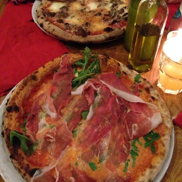 Antipasto Fuoco Vivo & pizza parma & pizza fuoco vivo