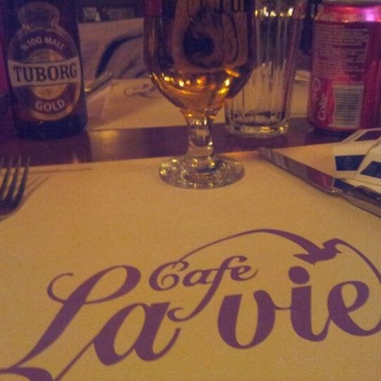 Photo taken at Cafe La Vie by Osman U. on 1/27/2013
