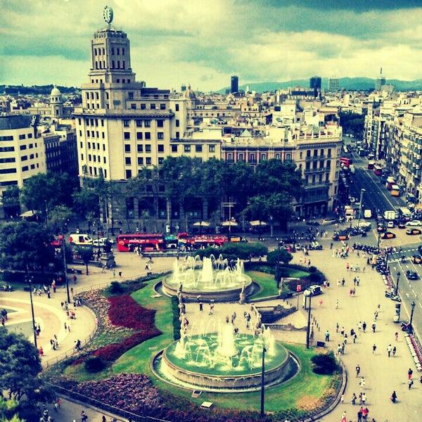 Pla a de catalunya la dreta de l 39 eixample pl catalunya - Placa kennedy barcelona ...